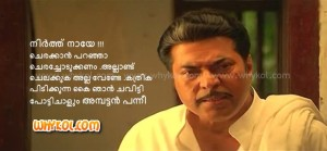 mammootty dialogue in palerimanikyam