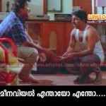 mohanlal and sreenivasan comedy dialogue in malayalam movie Akkare Akkare Akkare