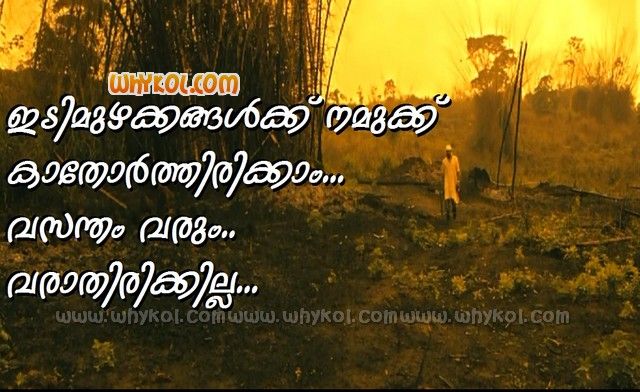 Super Malayalam quote in D company