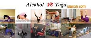alcohol vs yoga