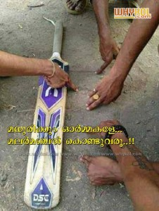 Cricket in childhood