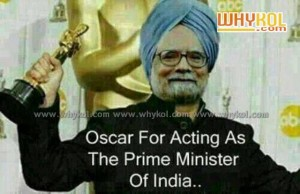 fun image about manmohan