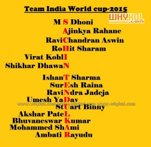 Miss u sachin on WC 2015