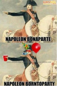 Nepolian Borntoparty