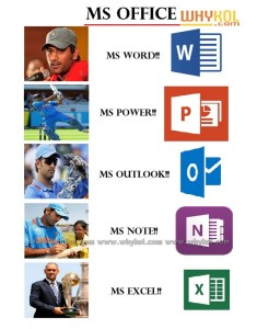 MS dhoni funny image