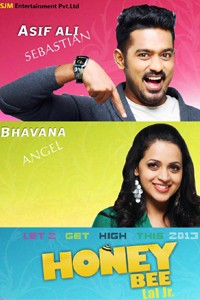 Honey bee malayalam film poster