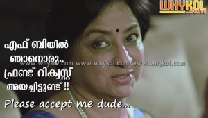 Lakshmi funny facebook malayalam comment