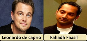 dicaprio and fahadh fasil