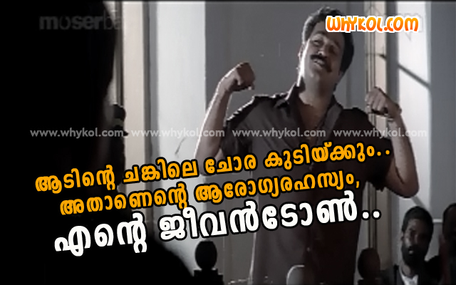 malayalam movie spadikam dialogues - WhyKol