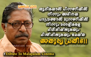 Tribute to Sreenivasan