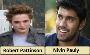 Robert patttinson and Nivin