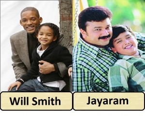 Will Smith and Jayaram