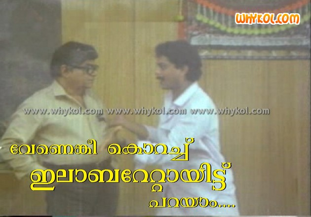 Funny malayalam film comment from Boeing Boeing