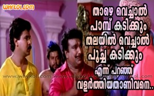 Funny Malayalam film proverb comedy