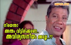 Malayalam movie comedy comment