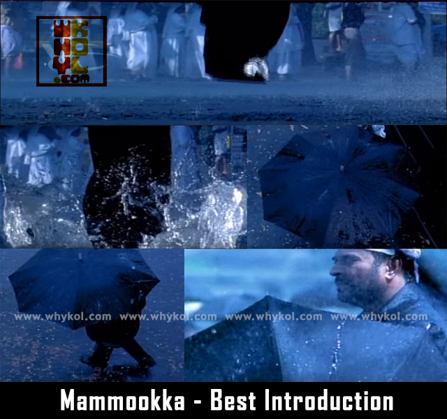 Mammooty on his best intro