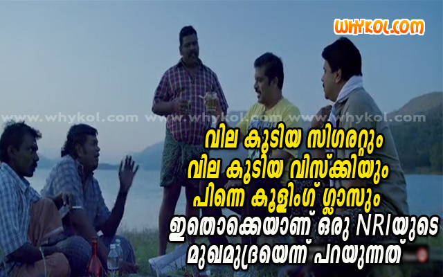 NRI malayalam funny comment