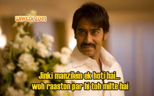 Ajay Devgan as Sultan Mirza in Once Upon a Time in Mumbaai