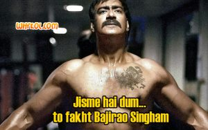 Singham Dialogues | Ajay Devgan dialogues from Singham
