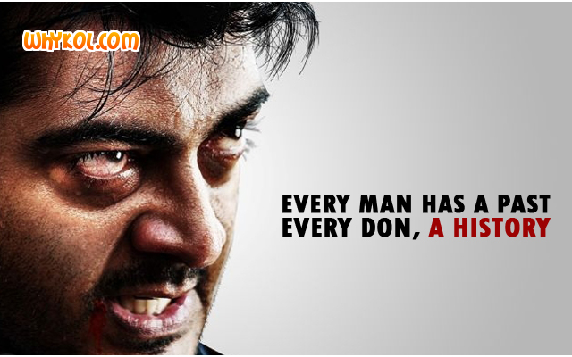 Ajith Punch dialogue from Billa