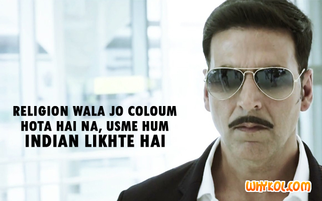 Hindi Movie dialogues - Akshay Kumar
