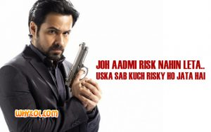 Emraan Hashmi Dialogues Collection