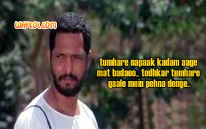 Nana Patekar dialogue | Hindi Movie dialogues