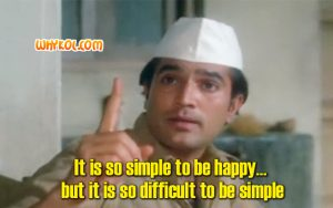 Inspirational Hindi Movie dialogues | Rajesh Khanna in Bawarchi