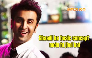 Comedy dialogues from the Movie Yeh Jawaani Hai deewani