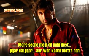 Ranbir Kapoor Besharam Movie dialogues