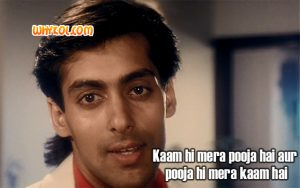 Salman Khan dialogues from Saajan | Hindi Popular dialogues