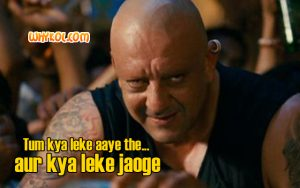 Sanjay Dutt dialogues from Agneepath