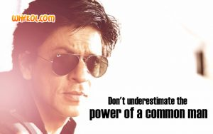 Dialogues from the Hindi Movie Chennai Express