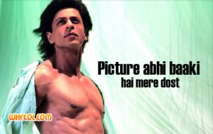 SRK dialogues in Om Shanti Om   Bollywood dialogues