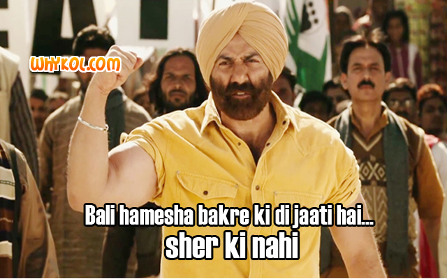 Singh Saab the great dialogues | Sunny Deol dialogues