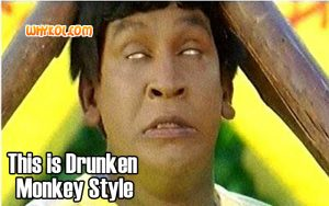 Drunken Monkey Style | Vadivelu comedy in Pokkiri