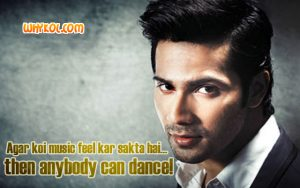 ABCD 2 dialogues about Dance | Varun Dhawan