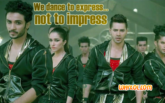 Dance quotes in ABCD 2 | Varun Dhawan dialogues