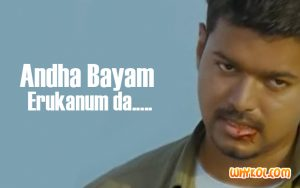 Vijay Mass dialogues from Thuppakki