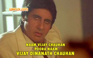 Vijay Chauhan - Dialogue from Agneepath