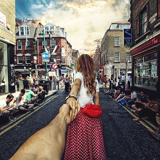 Brick Lane, London follow-me-murad-osmann-2-3