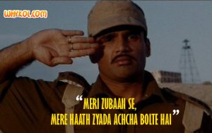 Hindi Patriotic dialogues | Suniel Shetty in Border