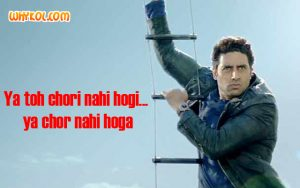 ACP Jai Dixit dialogues from Dhoom 3 | Abhishek Bachchan