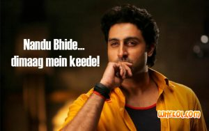 Abhishek Bachchan dialogues from Happy New Year