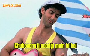 Dialogues from the movie Kaho Naa Pyaar Hai | Hrithik Roshan