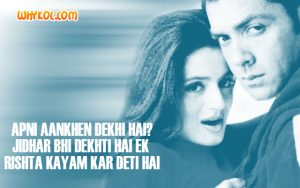 Bobby Deol dialogues from Kranti