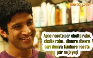 Farhan Akhtar dialogues from Luck By Chance