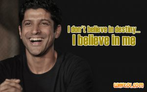 Famous dialogues of Farhan Akhtar | Luck By Chance