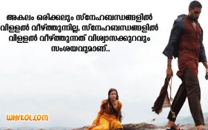 Life quotes in Malayalam language
