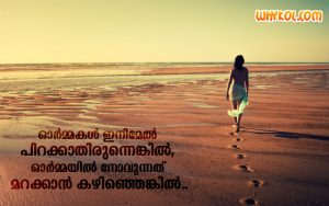 Sad love | Loneliness quotes malayalam images